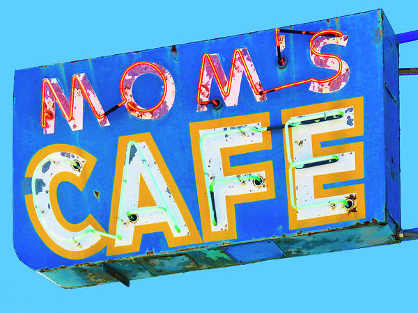 Wall Art - Photograph - Mom's Cafe by Dominic Piperata
