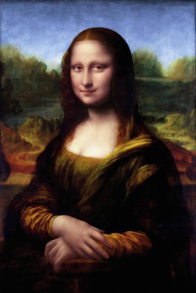 Wall Art - Painting - Mona Lisa  By Leonardo Da Vinci by Xzendor7