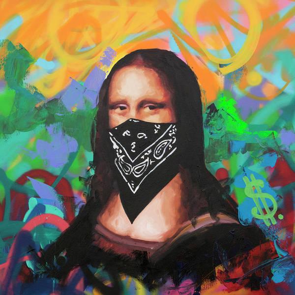 Wall Art - Painting - Mona Lisa by Richard Day