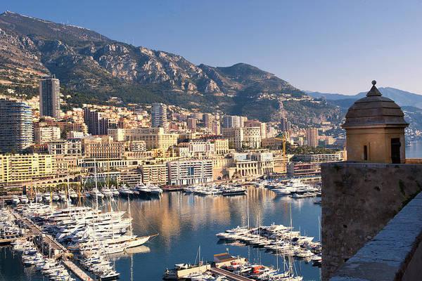 Monaco Photograph - Monaco Harbor by Copyright (c) Richard Susanto