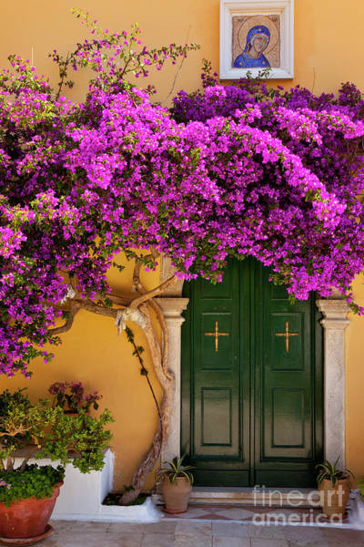 Photograph - Monastery Door II by Brian Jannsen