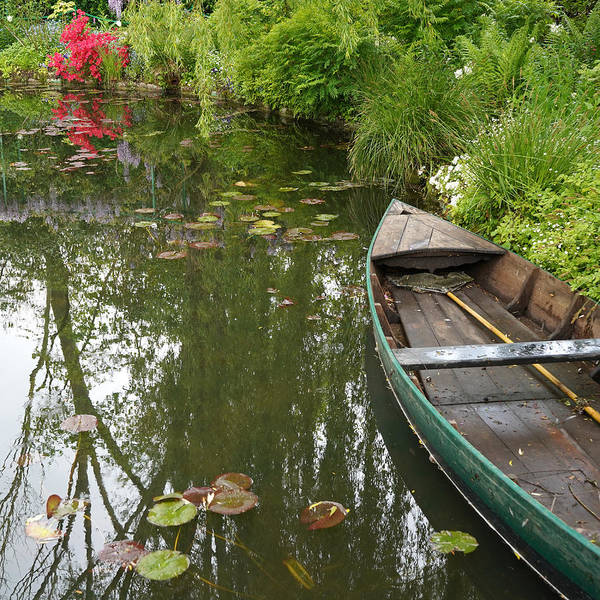 Photograph - Monets Garden 3 by Andrew Fare