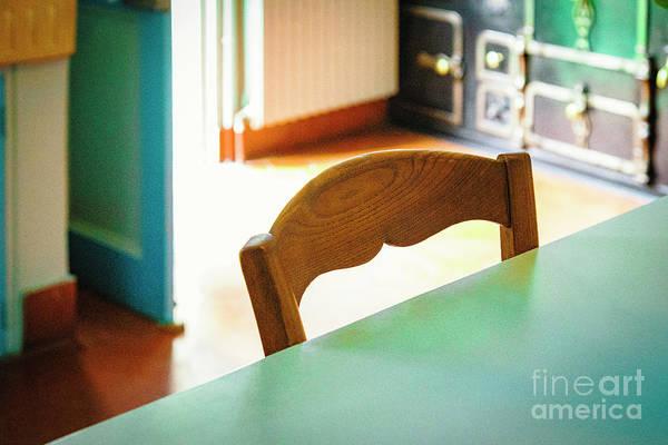 Photograph - Monet's Kitchen Chair by Craig J Satterlee