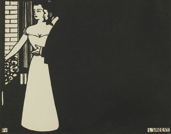 Wall Art - Relief - Money, Plate Five From Intimacies by Felix Edouard Vallotton