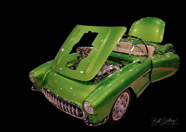 Photograph - Money Vette by Bill Dutting