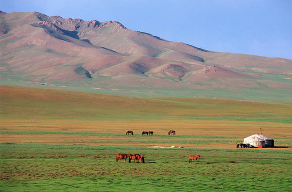 East Asia Photograph - Mongolie, Ovorkhangai Province, Orkhon by Guiziou Franck / Hemis.fr