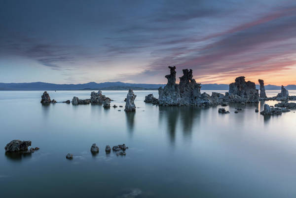 Rock Formation Photograph - Mono Lake by Henryk Welle