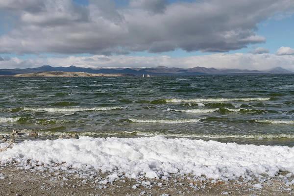 Wall Art - Photograph - Mono Lake Stormy Winter by Kathleen Bishop