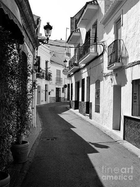 Wall Art - Photograph - Mono Street Scene, Nerja by John Edwards