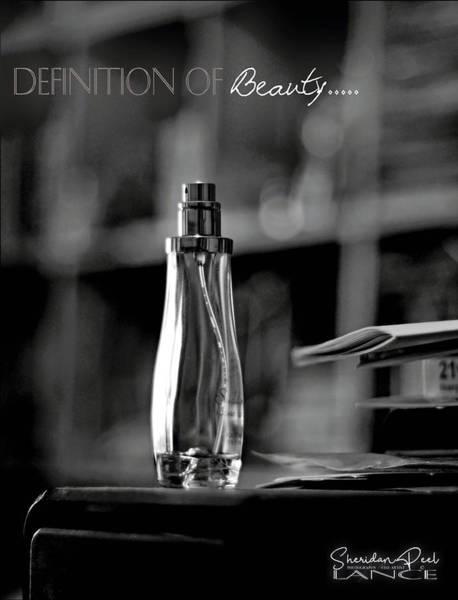 Monochrome Definition Of Beauty Art Print