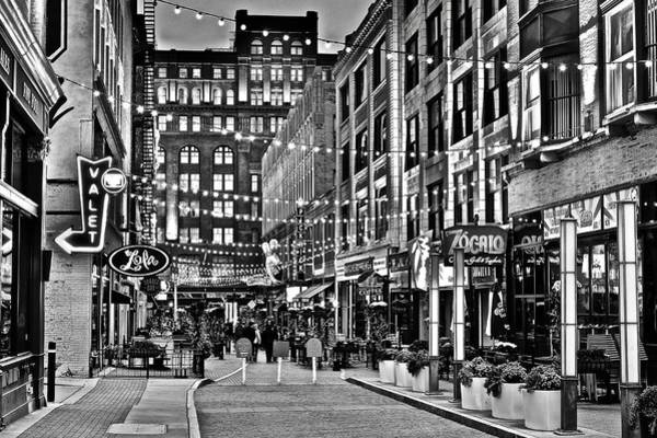 Wall Art - Photograph - Monochrome East 4th by Frozen in Time Fine Art Photography