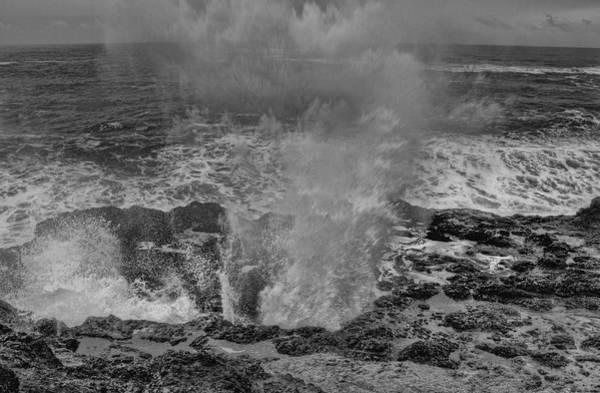 Camera Raw Photograph - Monochrome Impact Zone by Brenton Cooper