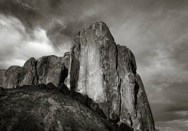Photograph - Monochrome Monolith by Rikk Flohr