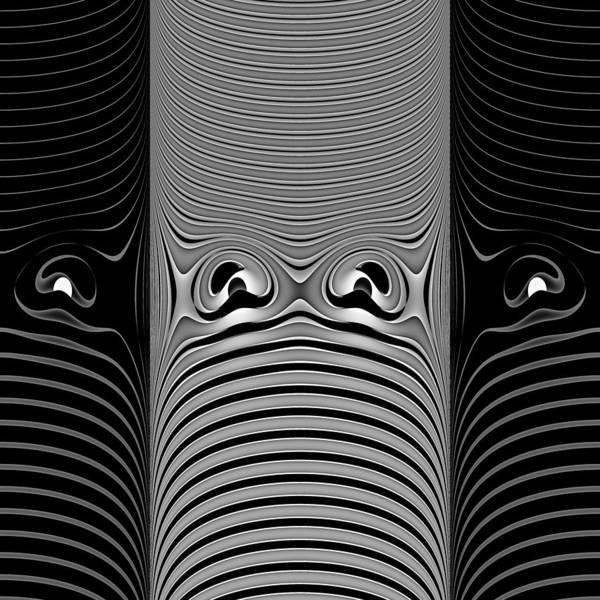 Serendipity Digital Art - Monoclasps by Andrew Kotlinski
