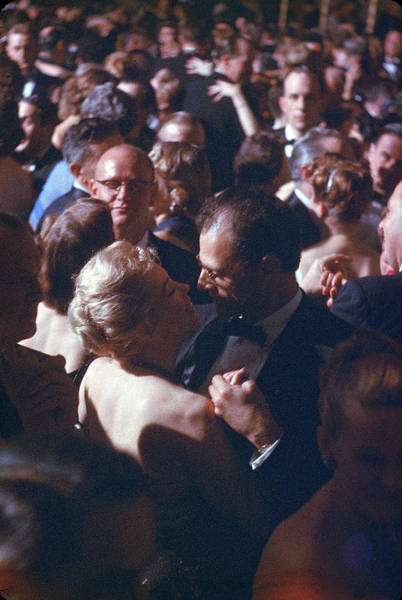 Scriptwriter Photograph - Monroe & Miller At April In Paris Ball by Peter Stackpole