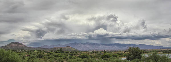 Photograph - Monsoon Storms Over The Catalinas by Elaine Malott