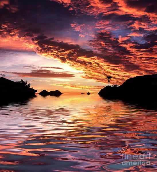 Lucas Photograph - Monsoon Sunrise by Elisabeth Lucas