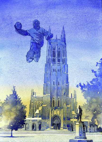 Wall Art - Painting - Monster Dunk- Durham Chapel by Ryan Fox