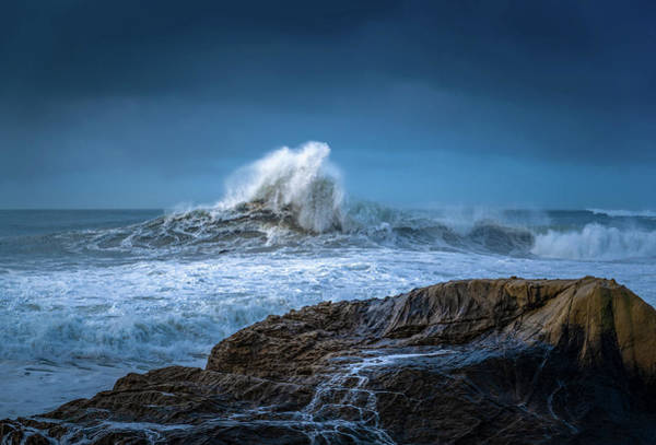Wall Art - Photograph - Monster Waves by Lonnie Christopher