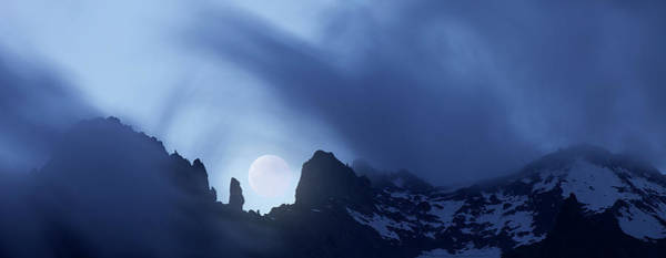 Wall Art - Photograph - Mont Blanc Massif by Massimo Merlini