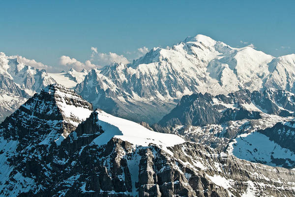 Mont Blanc Wall Art - Photograph - Mont-blanc by N. Remond