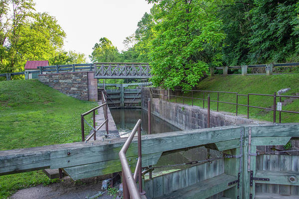Photograph - Mont Clare Lock 60 - Schuylkill Canal by Bill Cannon