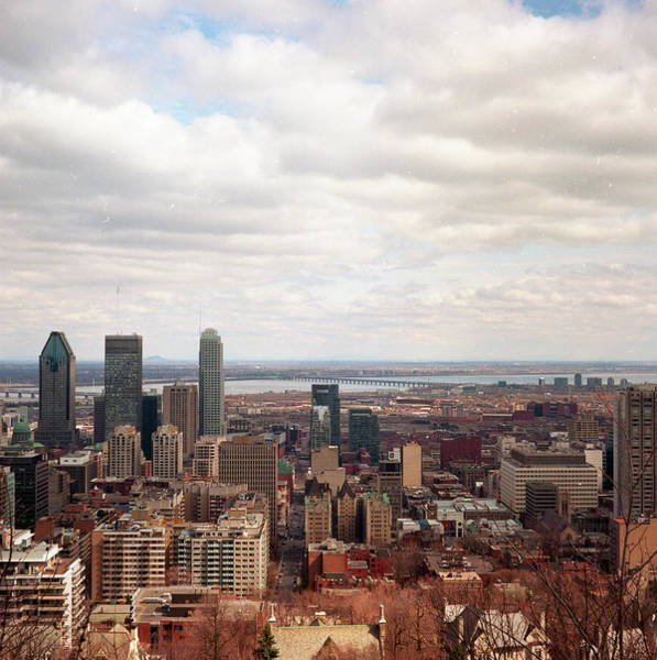 Quebec City Photograph - Mont Royal by © Thericyip Photography