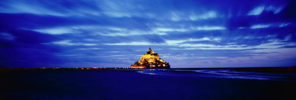 Wall Art - Photograph - Mont-saint-michel At Dusk by Harald Sund