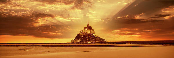 Wall Art - Photograph - Mont-saint-michel At Sunset by Harald Sund