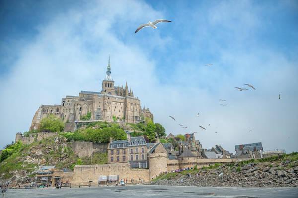 Wall Art - Photograph - Mont Saint Michel, France by Jim Engelbrecht
