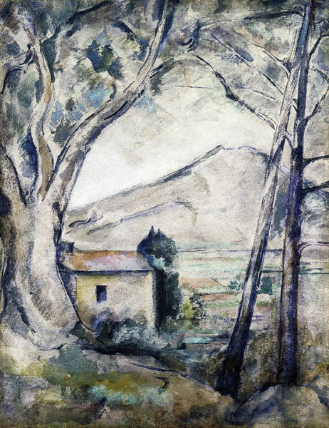 Wall Art - Painting - Mont Sainte, Victoire - Digital Remastered Edition by Emile Bernard