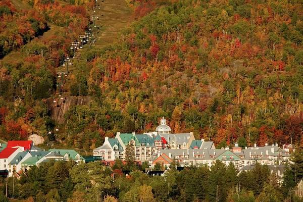 Quebec Photograph - Mont Tremblant Quebec, Canada by Alan Marsh / Design Pics