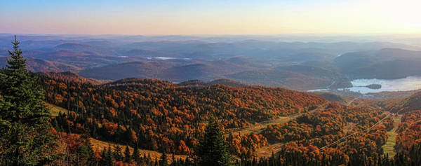 Photograph - Mont Tremblant Summit Panorama by Andy Konieczny