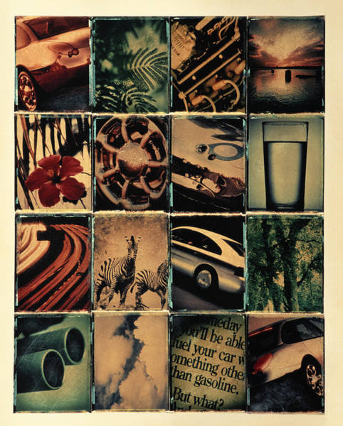 Exhaust Wall Art - Photograph - Montage by Jonnie Miles
