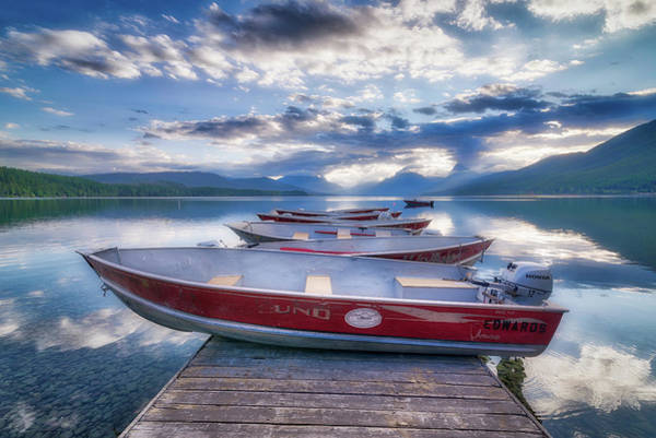 Outboard Photograph - Montana Boats by Spencer McDonald