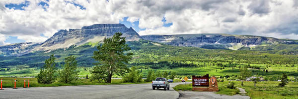 Photograph - Montana Glacier National Park Entrance by Tatiana Travelways