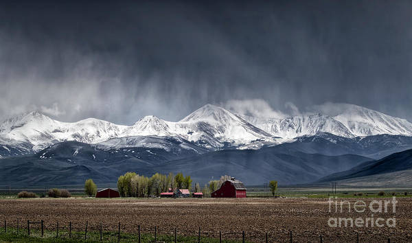 Photograph - Montana Homestead by Brad Allen Fine Art