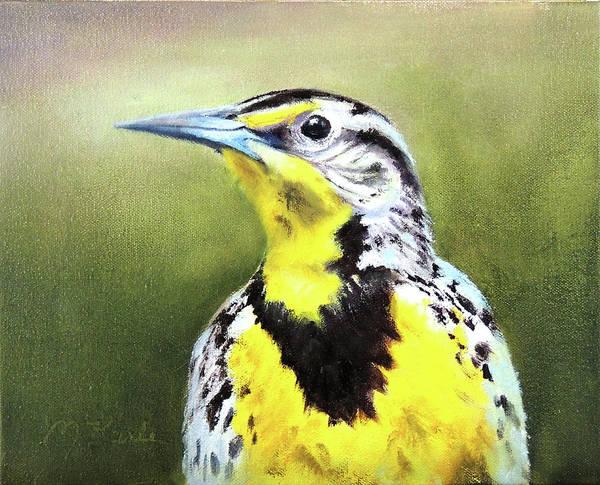 Painting - Montana Meadowlark by Marsha Karle