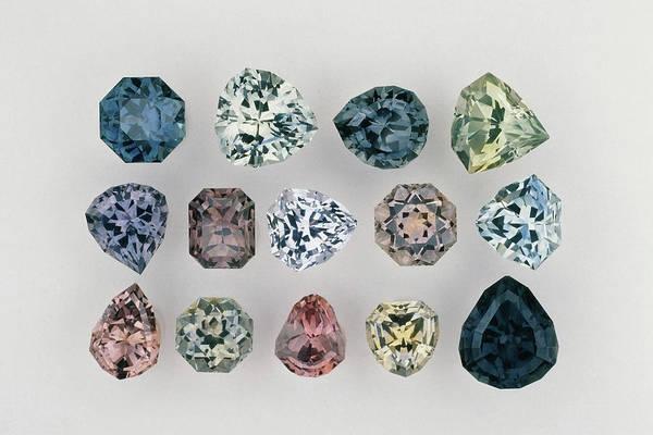 Wall Art - Photograph - Montana Sapphires by Joel E. Arem