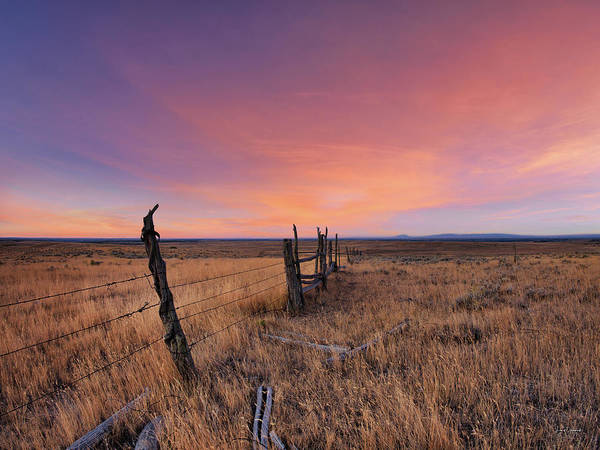 East County Photograph - Montana Sunset by Leland D Howard