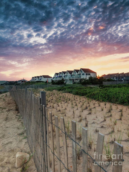 Photograph - Montauk Beach Sunset Bungalows by Alissa Beth Photography