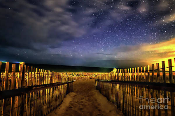Photograph - Montauk Stary Night by Alissa Beth Photography