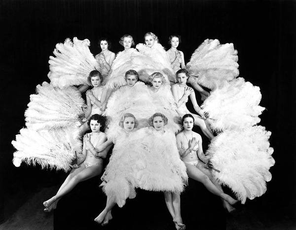 Showgirl Photograph - Monte Carlo Follies by Sasha