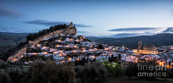 Wall Art - Photograph - Montefrio At Blue Hour 1 by Timothy Hacker