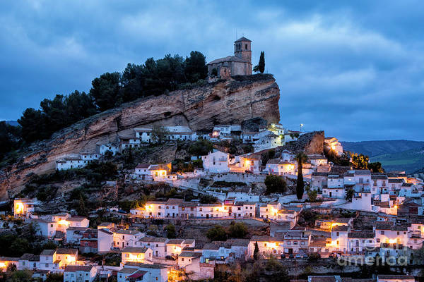 Wall Art - Photograph - Montefrio At Blue Hour by Timothy Hacker