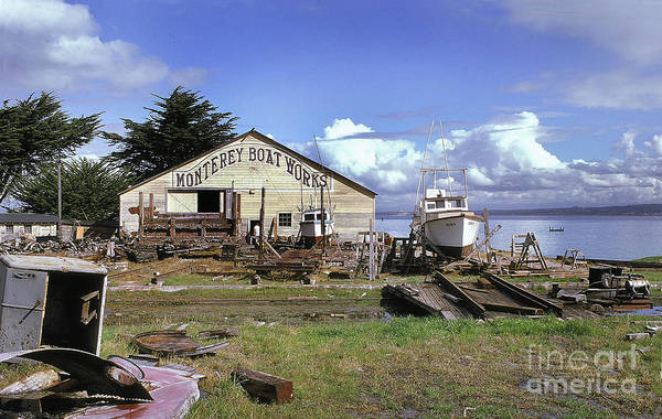 Photograph - Monterey Boat Works March 1972 by California Views Archives Mr Pat Hathaway Archives