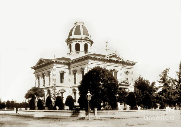 Photograph - Monterey County Court House, Salinas Circa 1900 by California Views Archives Mr Pat Hathaway Archives