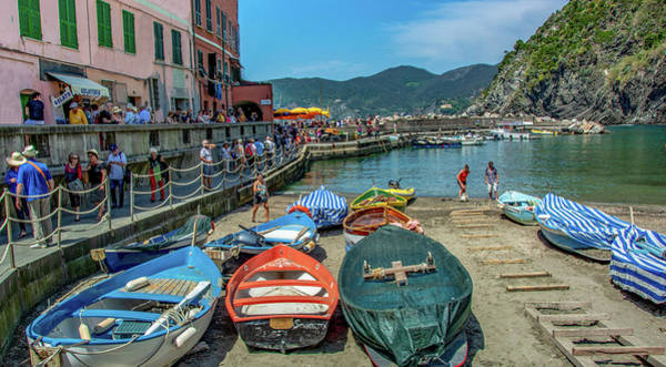 Wall Art - Photograph - Monterosso Al Mare, Italy by Marcy Wielfaert