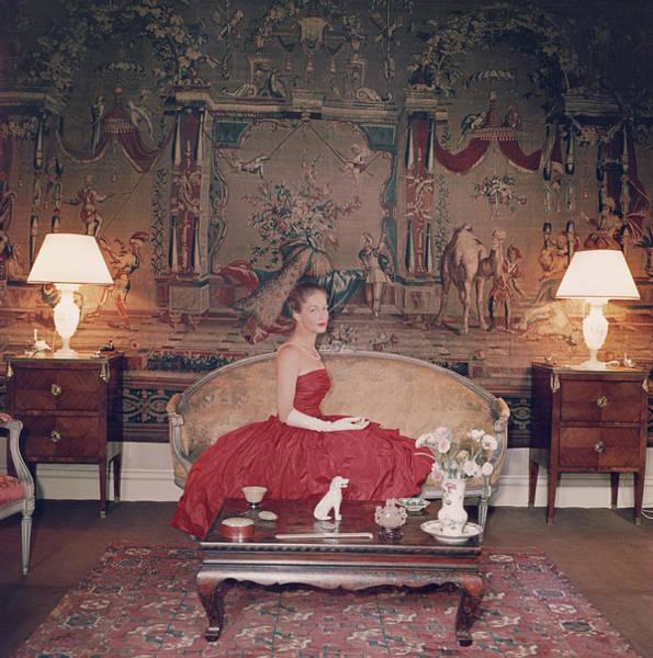 Furniture Photograph - Montesquiou-fezensac by Slim Aarons