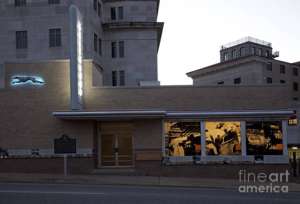 Photograph - Montgomery Bus Station by Carol Highsmith